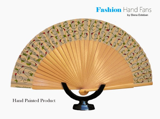Ladybirds ~ Fashion Hand  Fans