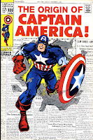 Captain America v1 #109 marvel comic book cover art by Jack Kirby