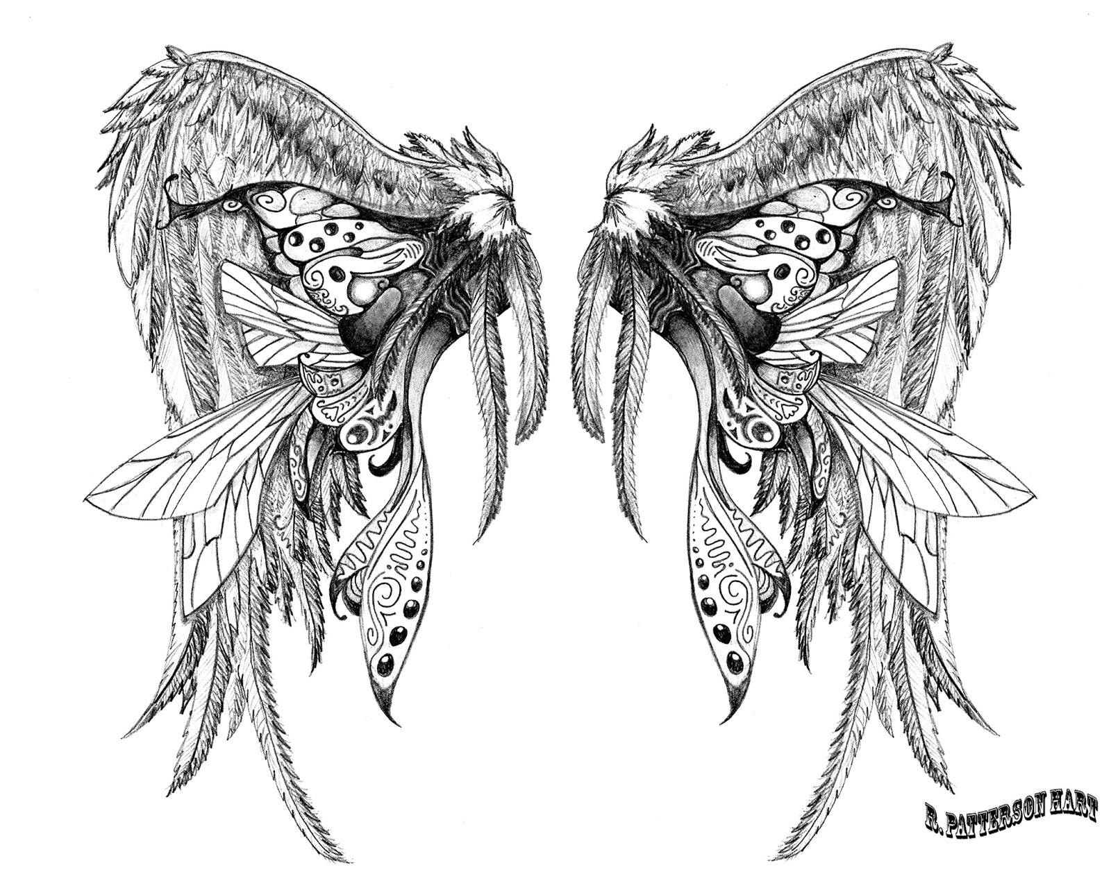 White Angel Wings Tattoos: 15 Tattoos Designs Sleeves For Men