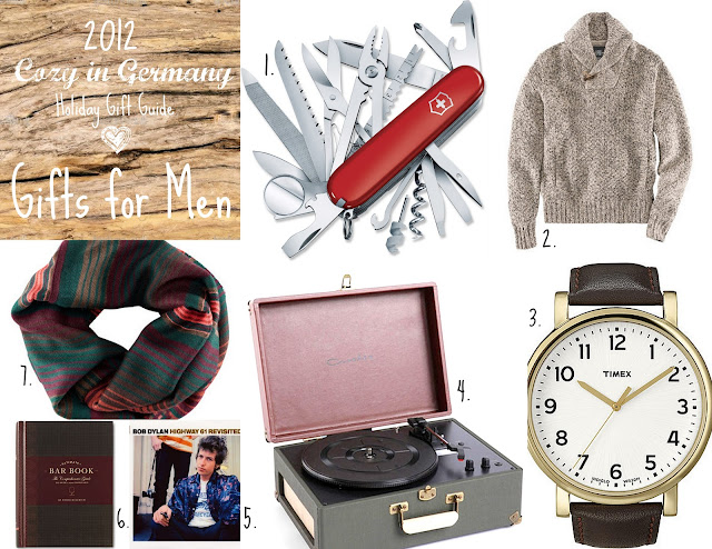 Cozy In Germany: 2012 Holiday Gift Guide: Men
