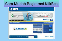 Cara Mudah Mendaftar KlikBCA tanpa Ribet