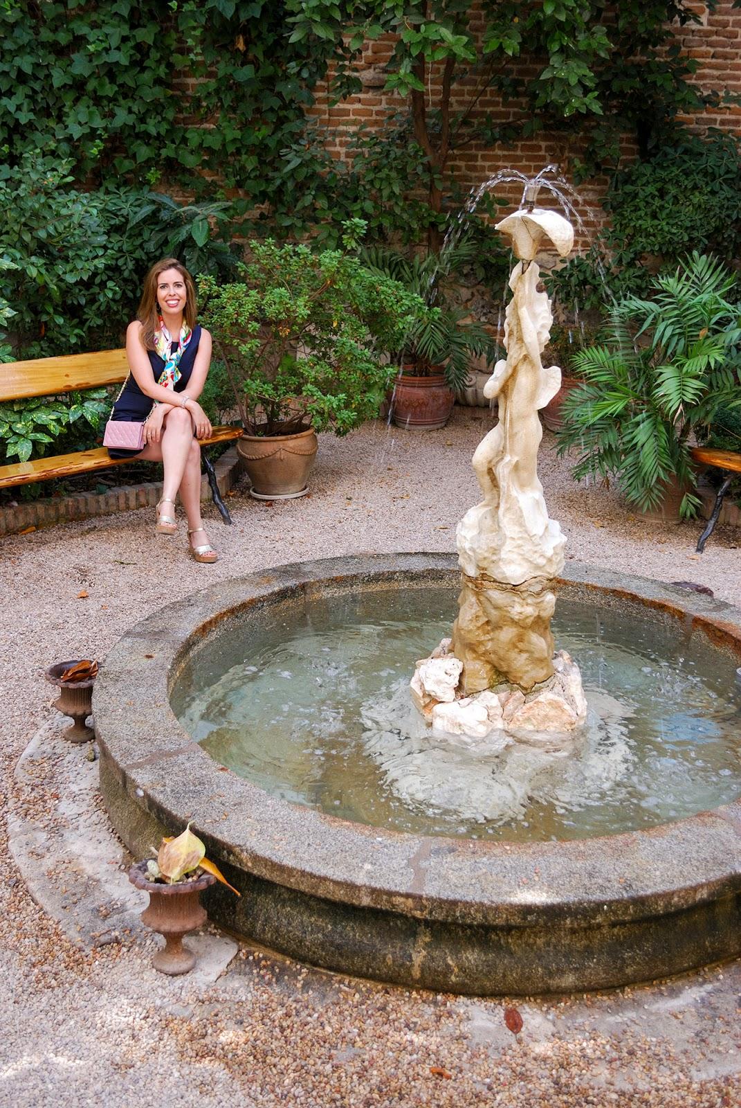 Cafe Jardin Museum of Romanticism Madrid