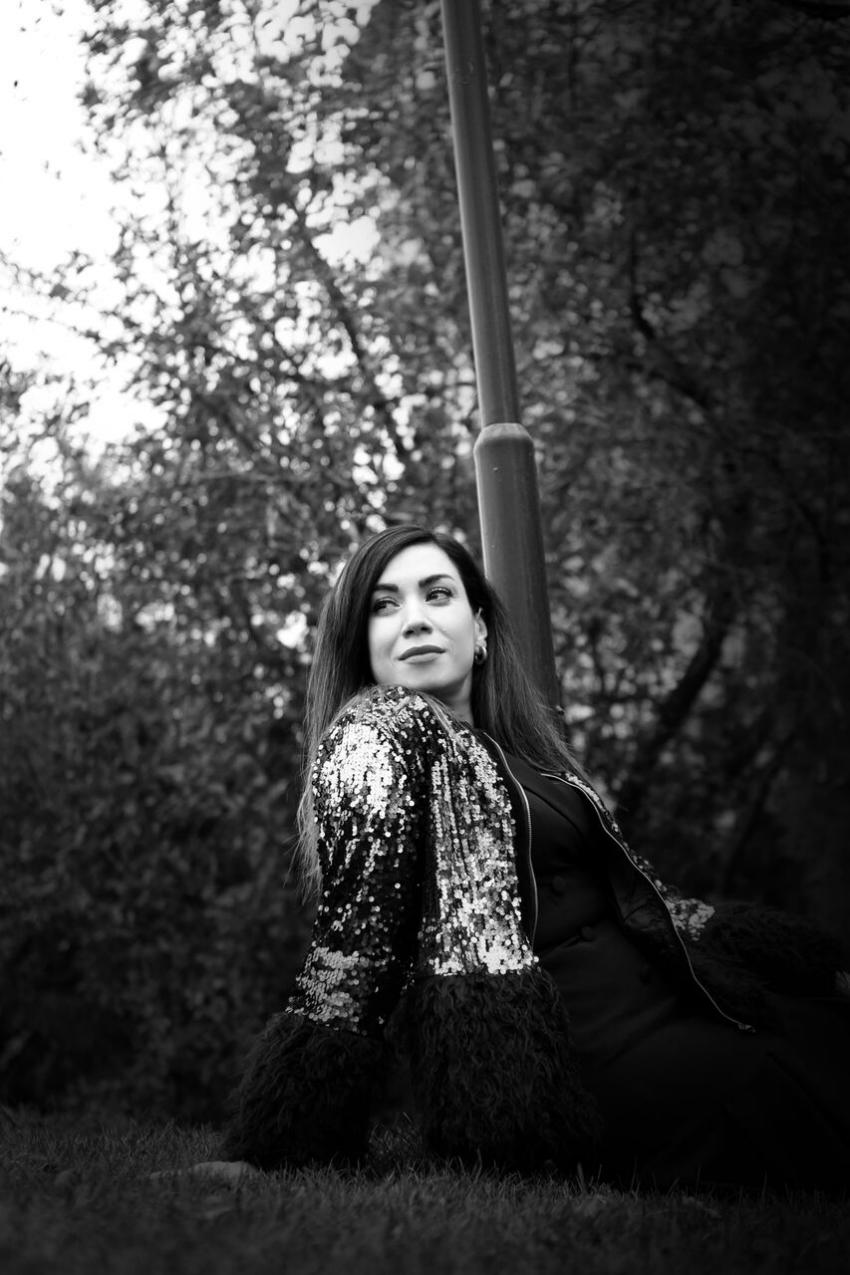 fashion blogger-alışveriş-moda blogu-Kürklü Payetli Ceket-Shein