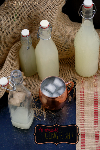 Homemade Ginger Beer inspired by Rachel's Ginger Beer in Seattle
