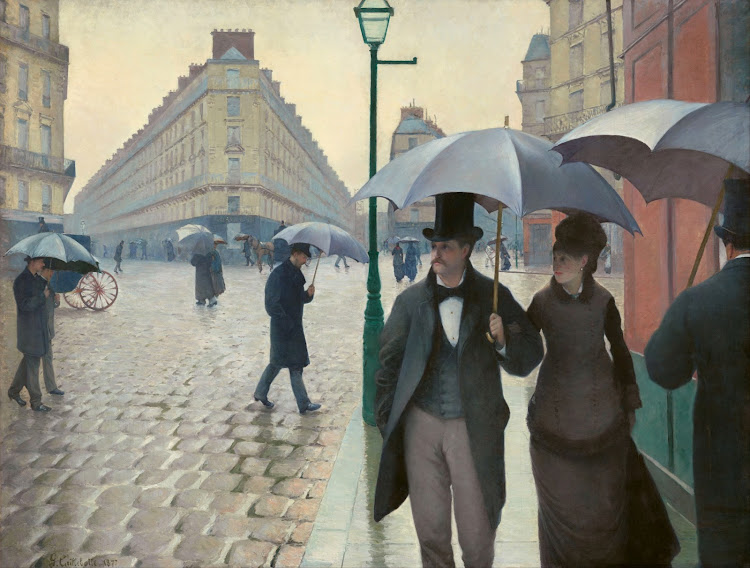 Gustave Caillebotte - Paris Street Rainy Day