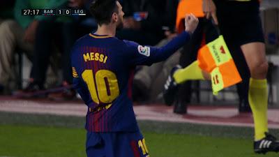 LFP-Week-31 Barcelona 3 vs 1 Leganes 07-04-2018