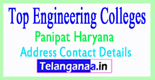 Top Engineering Colleges in Panipat Haryana