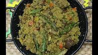 Paella de Quinoa