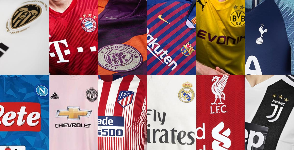 Most Champions League teams have released all their jerseys for the 2018-2019  Champions League season. However 4bd99dc13