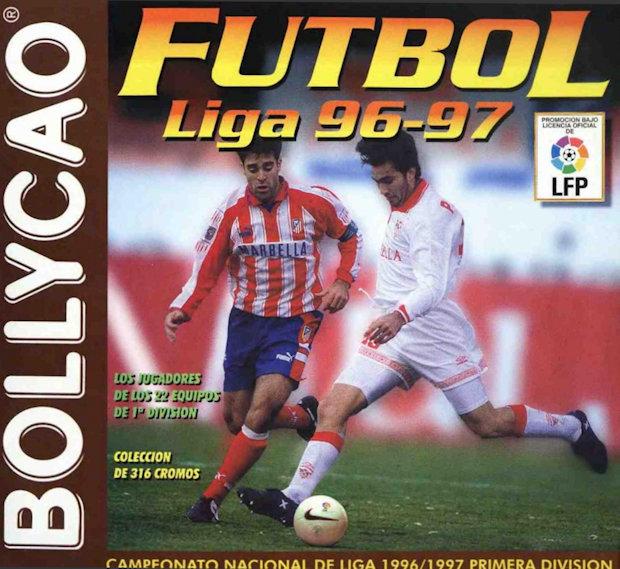 45f755132 Football Cartophilic Info Exchange  Bollycao (Spain) - Futbol Liga 96-97