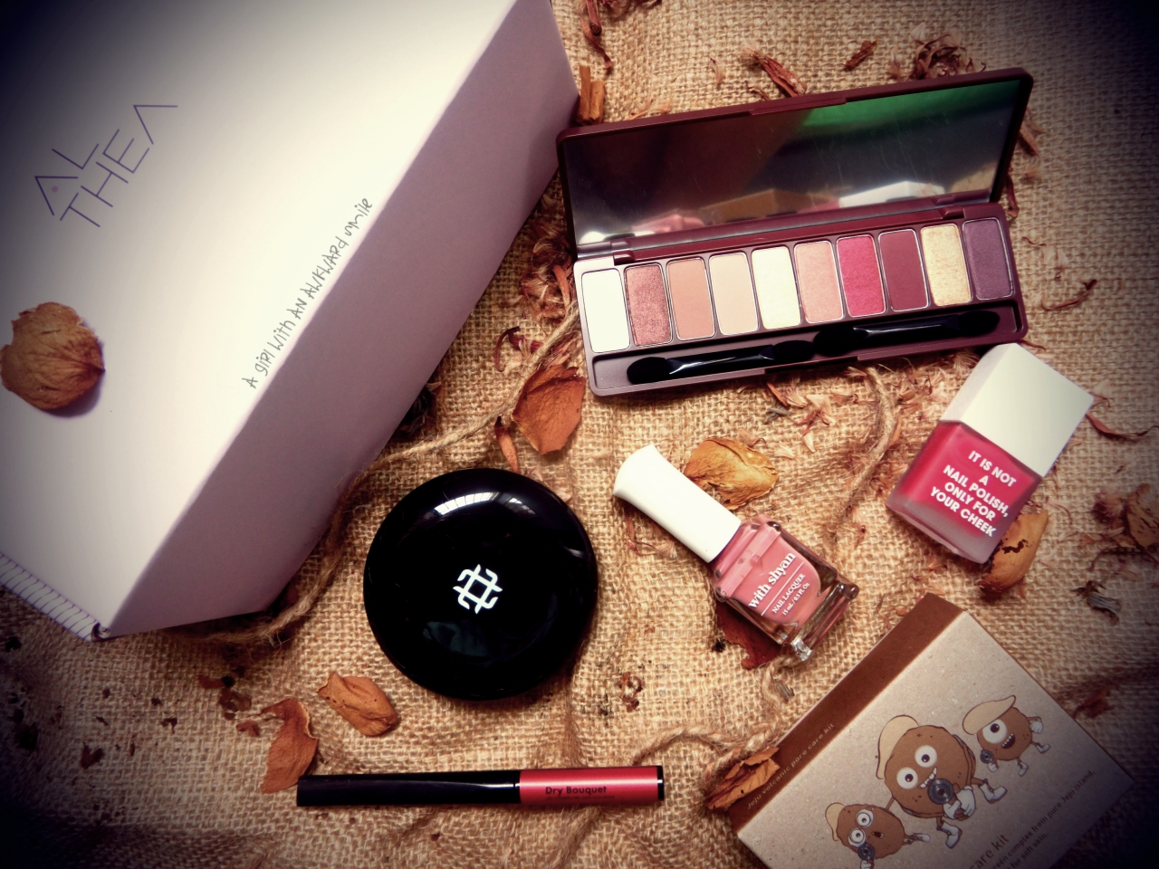 [รีวิว] ALTHEA KOREA BOX : DRIED ROSE BOX + DRIED ROSE MAKE-UP LOOK
