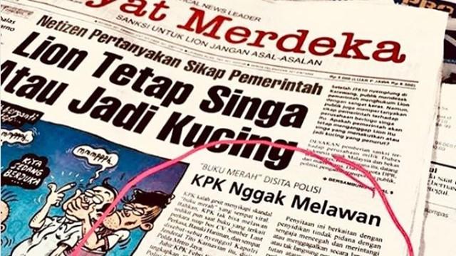 """""""Buku Merah"""" Disita Polisi, KPK Nggak Melawan"""