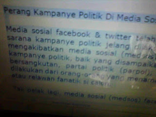Strategi Kampanye Politik Via Media Sosial Facebook Dan Twitter di Pilkada - Pemilu Indonesia