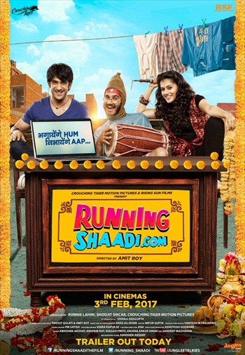 Running Shaadi 2017 Hindi 480p DVDRip 300mb