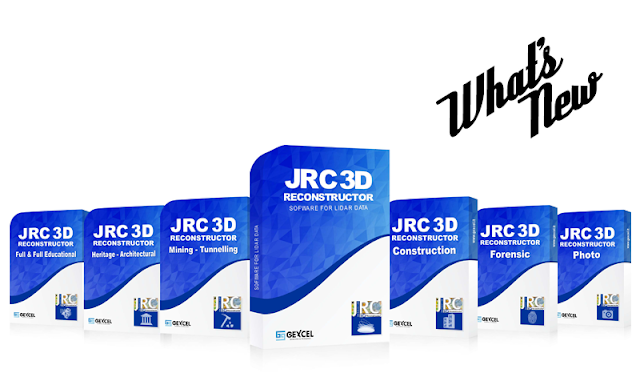 JRC 3D Reconstructor 3.3.1 what's new