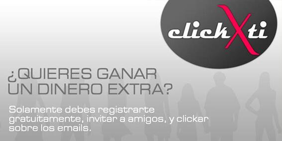 ClickXti: Gana por ver emails