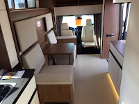 Leisure Travel Van Wonder Motorhome interior
