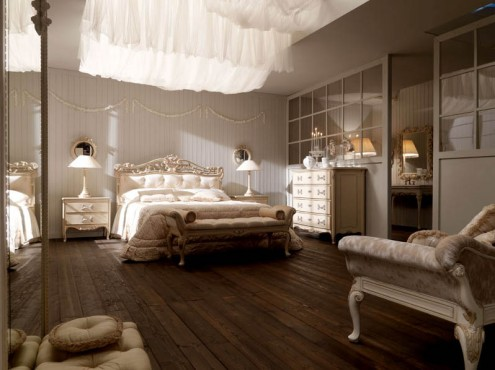 Modern Furniture Italian Bedroom Decoration Style 2011
