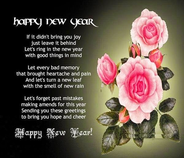 New Year 2019 Cute Love SMS Messages Images HD Download free