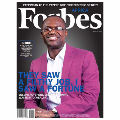 Dr Joseph Siaw Agyepong Covers The August Edition Of Forbes Africa Magazine