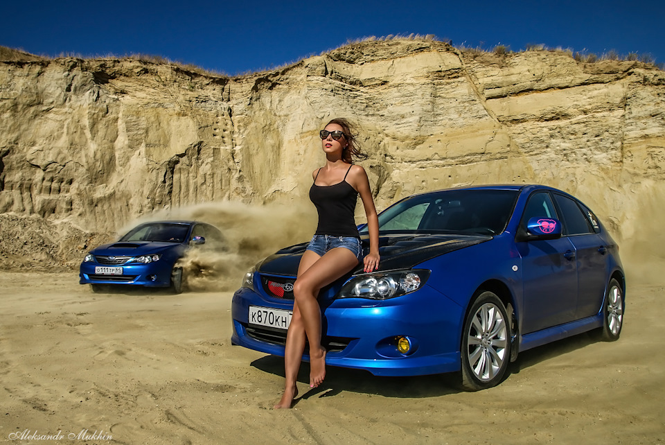 Subaru Impreza, laski, panny, samochody
