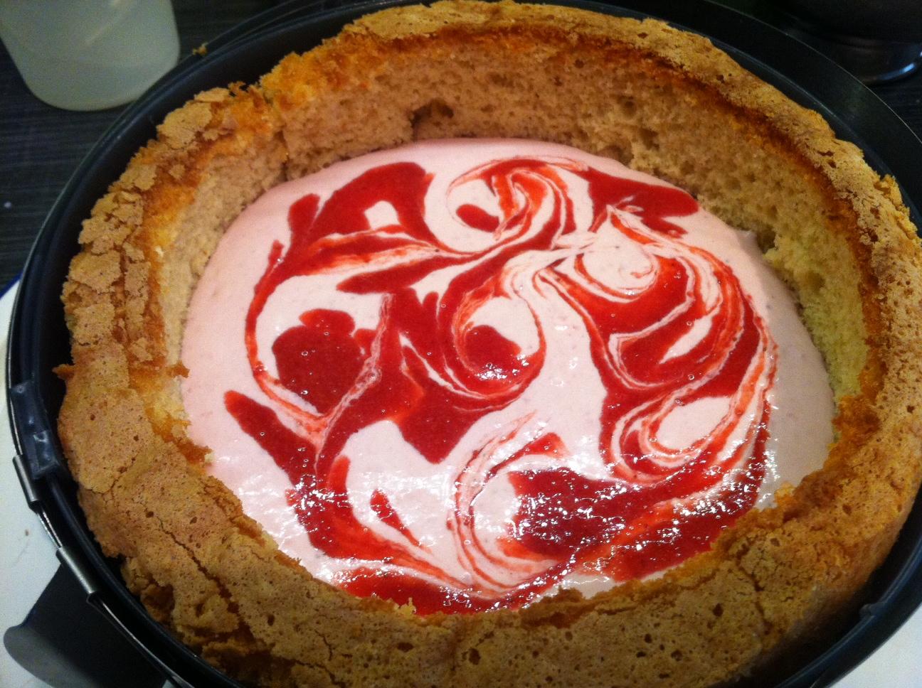 Rezept fr meine LieblingsMotivtortenfllung Erdbeer