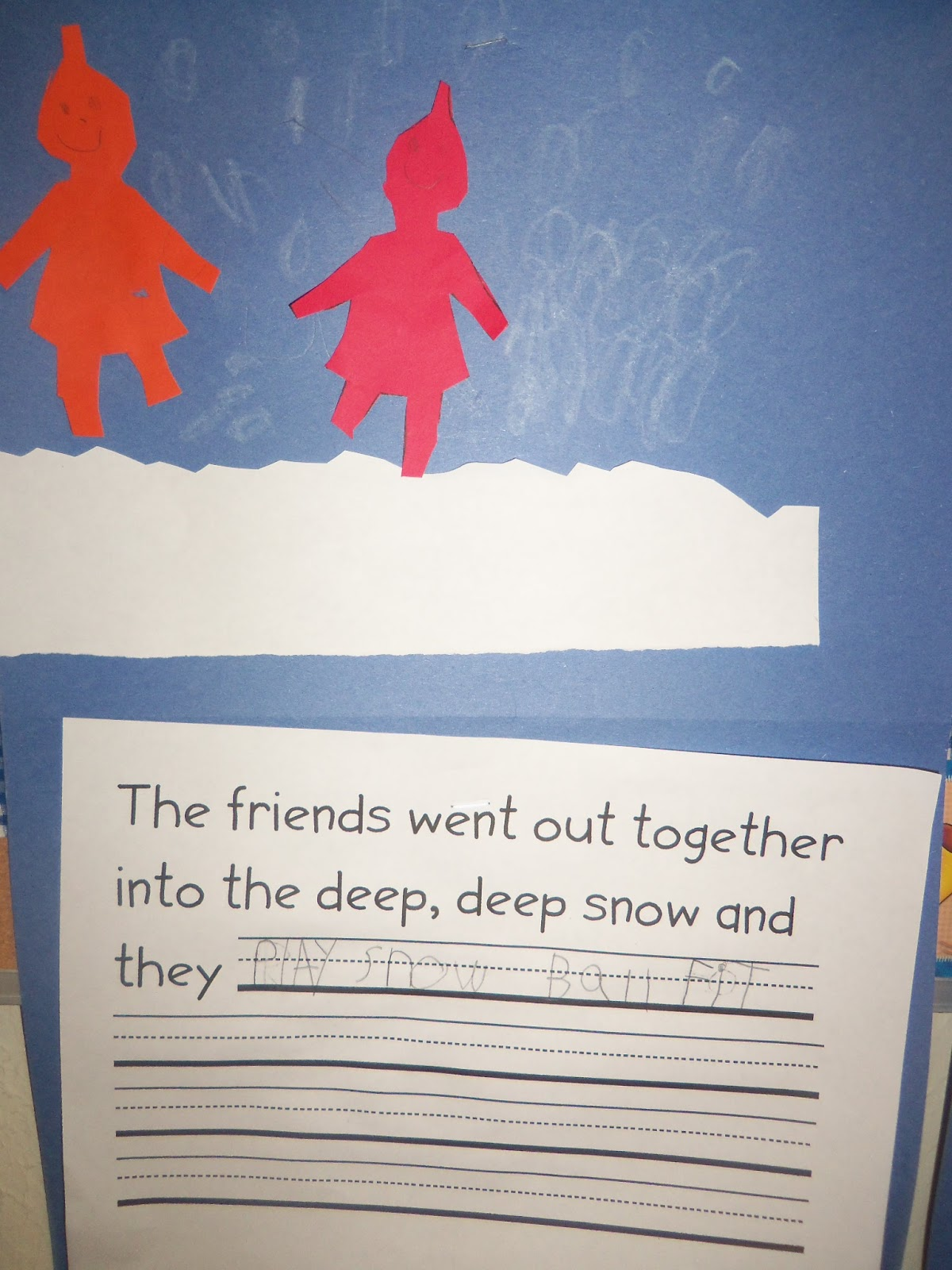 Mrs Wood S Kindergarten Class The Snowy Day Sensory