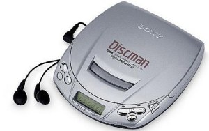 gadget tahun 90-an sony discman