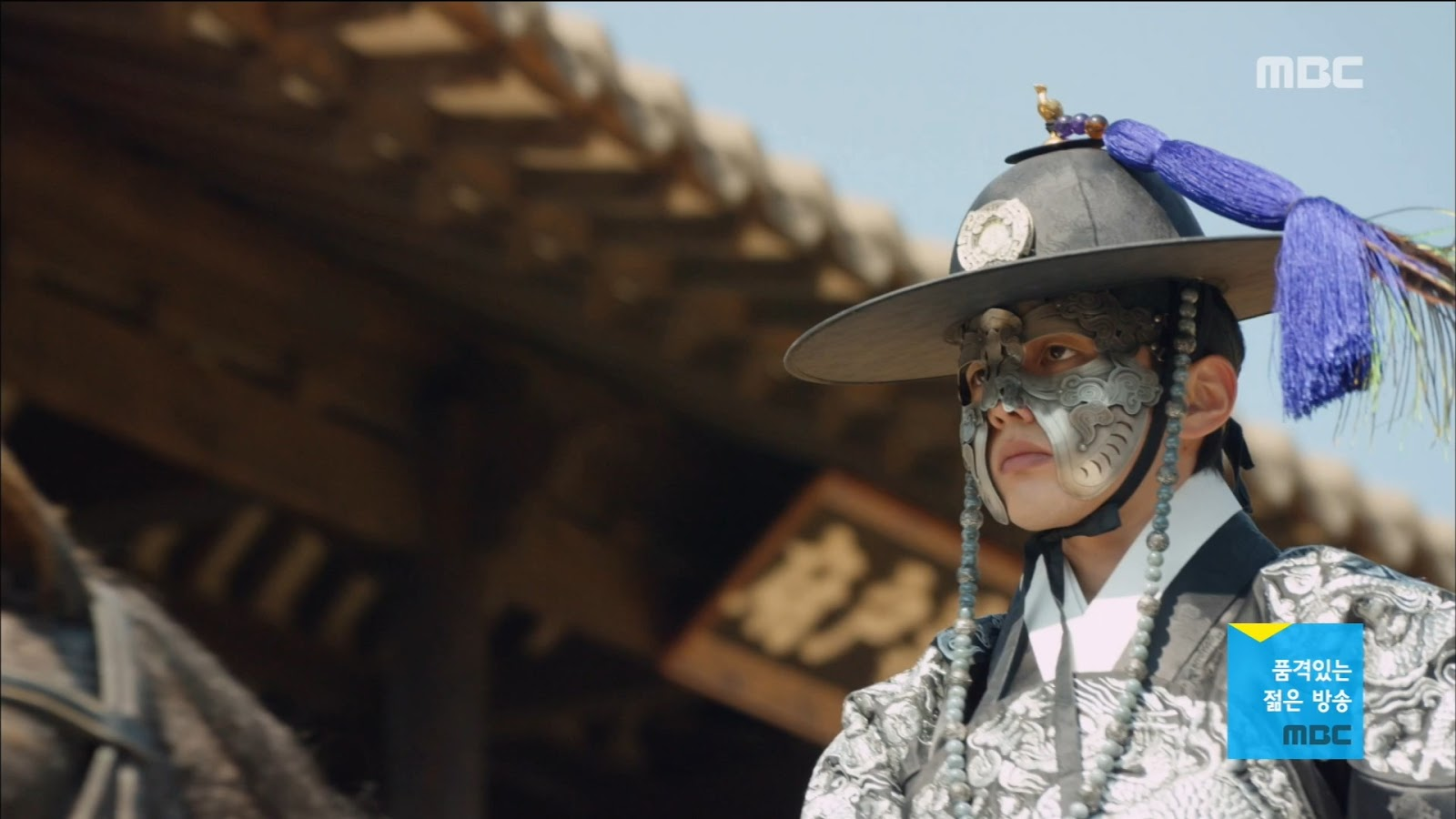 Yoo Seung-Ho in Ruler: Master of the Mask (MBC)