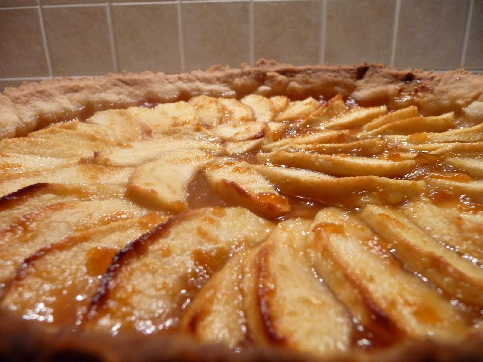 La pancia del lupo crostata di mele for Crostata di mele