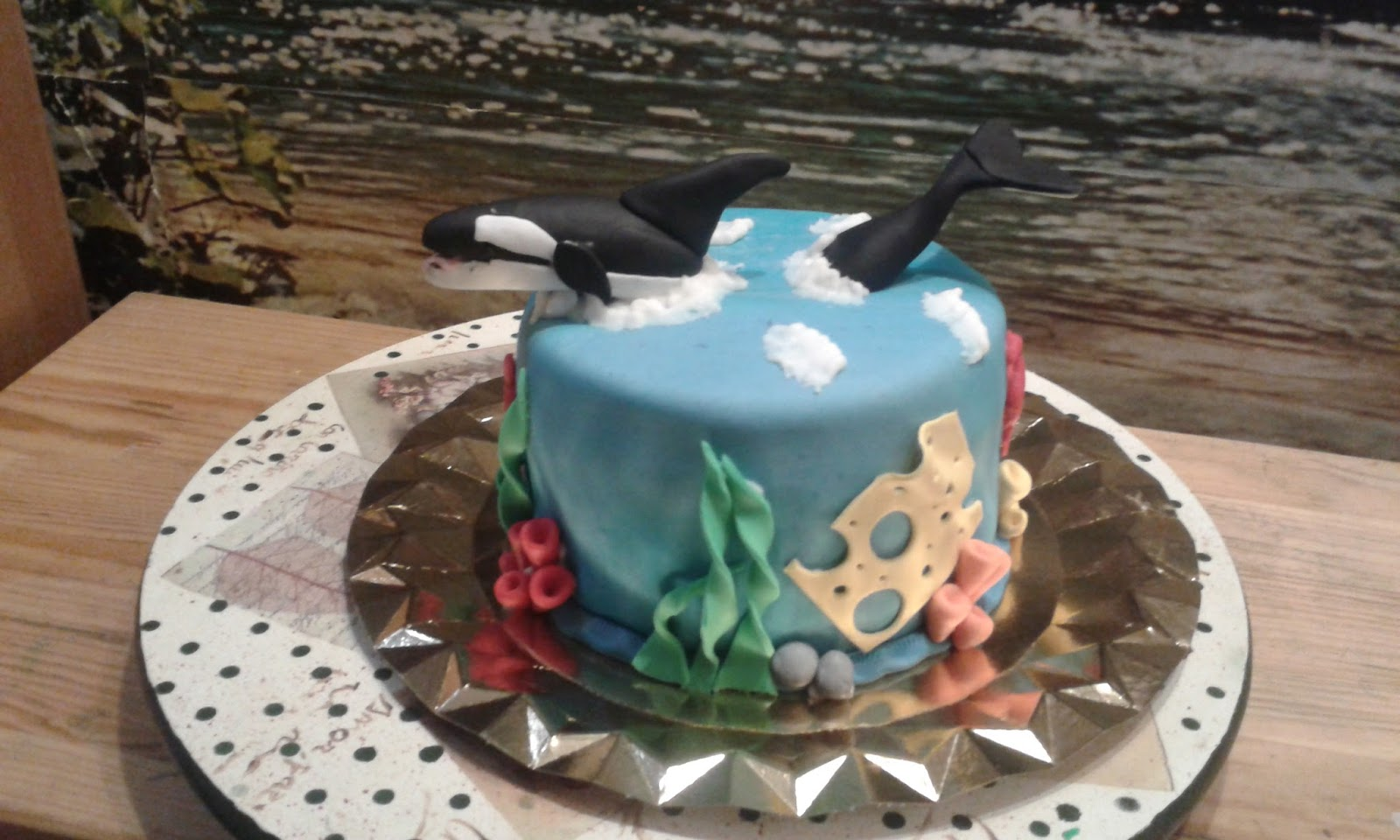 Cupcakes tenerife tarta orca - Cupcakes tenerife ...