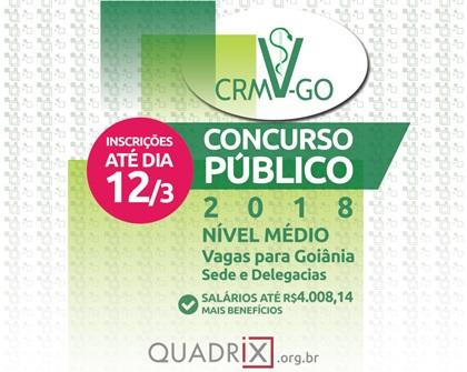 Edital Concurso CRMV-GO 2018