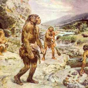 Busana manusia pada zaman prasejarah sebagai sejarah asal-usul busana
