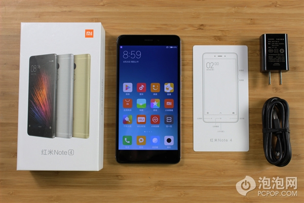 Redmi Note 4 In Box Accessories