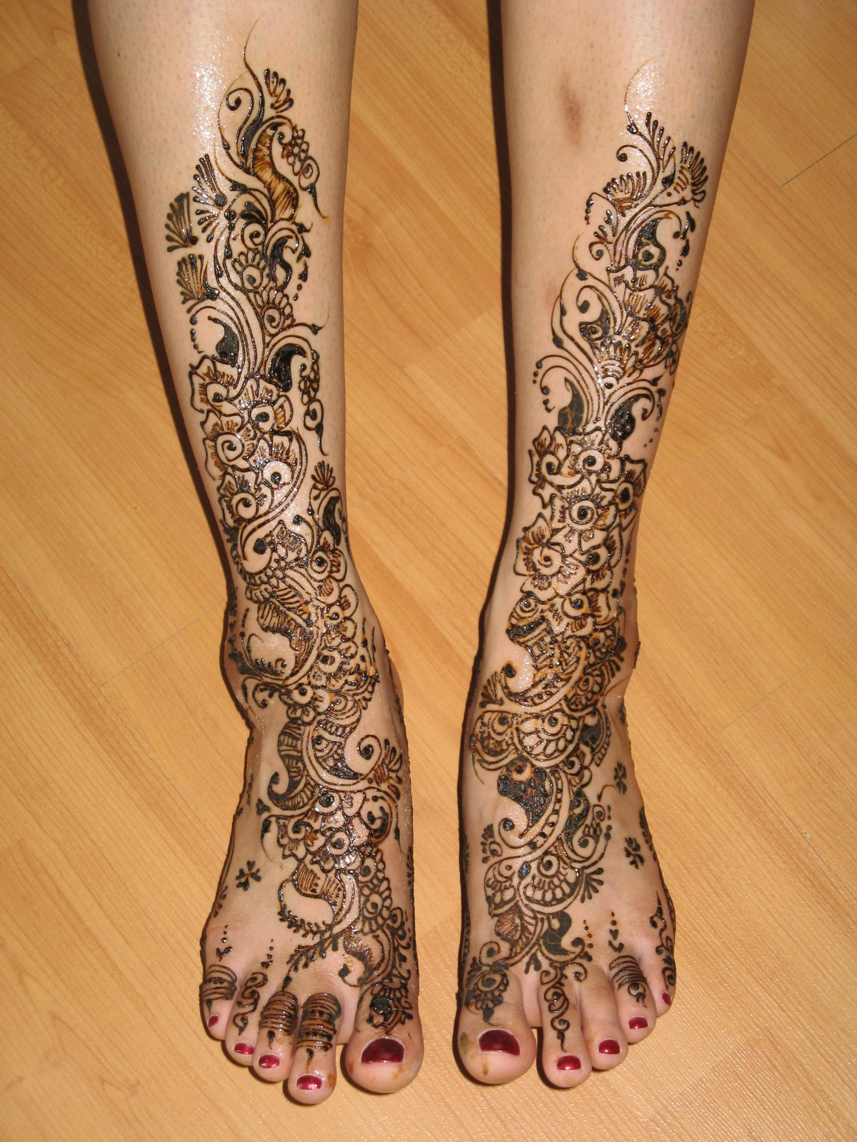 Mehandi Design For Bridal39s Feets Pakistani Mehandi Designs