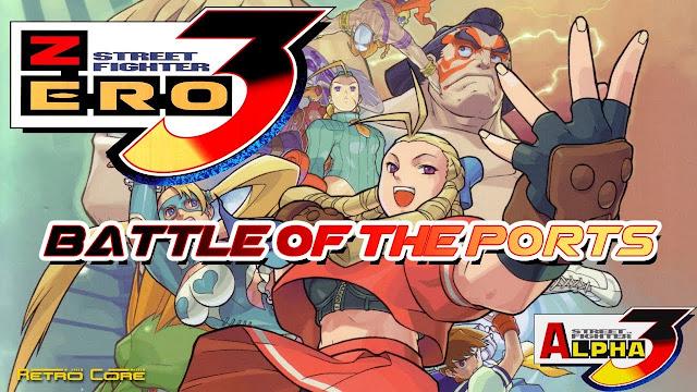 تحميل لعبة Street Fighter Zero 3 Double Upper  لأجهزة psp ومحاكي ppsspp
