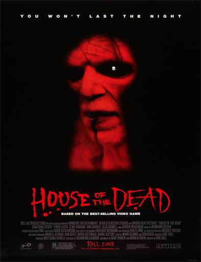 Ver La casa del espanto (House of the Dead) (2003) Online