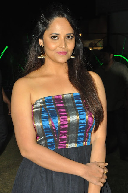 Anasuya at Balakrishnudu Telugu Movie Audio launch