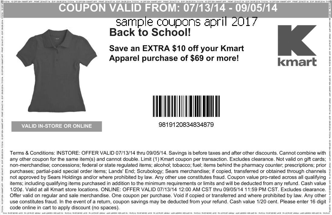 Kmart coupons april 2019