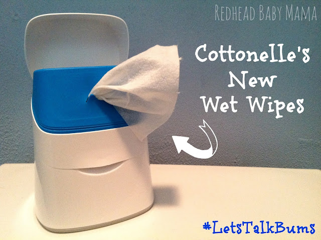 Cottonelle's new wet wipes