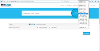 freenom cara domain gratis