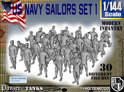 1-144 USN Modern Sailors Set 1 picture 1