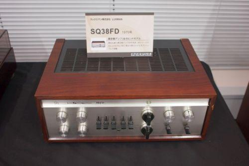 LUXMAN vacuum tube amplifier SQ38FD (1970)