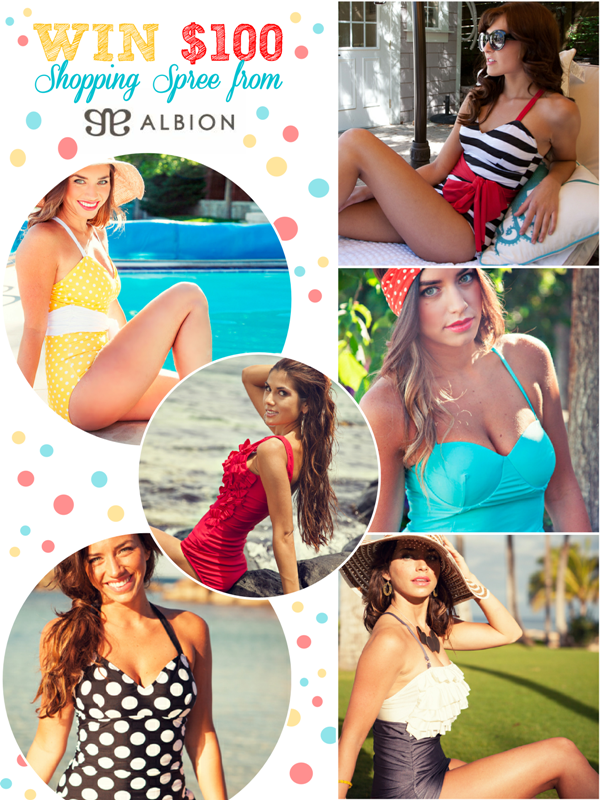 Giveaway | $100 Gift Card Swimwear Shopping Spree
