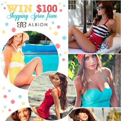 Giveaway | $100 Gift Card Swimwear Shopping Spree