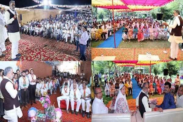 krishan-pal-gurjar-appeal-to-vote-for-modi-sarkar-no-corruption-news