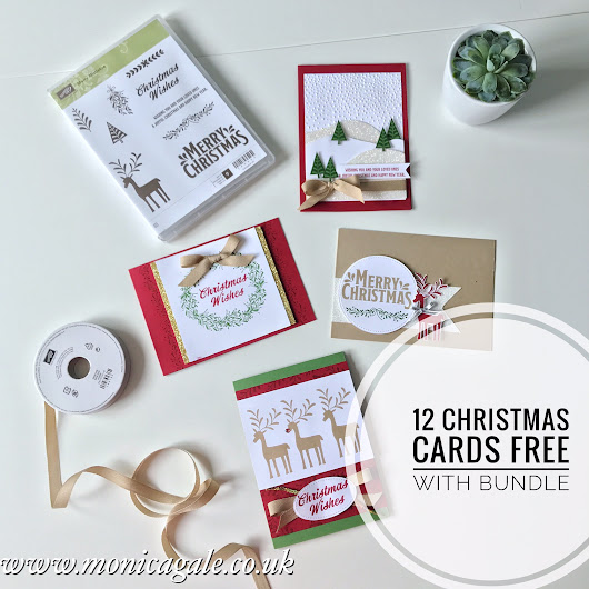 Stampin'Up! Be Merry Suite- Christmas in July