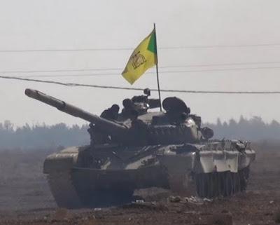 Τ-72 της Kataib Hezbollah