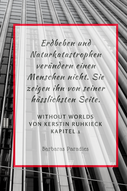 Buchrezension #125 Without Worlds von Kerstin Ruhkieck