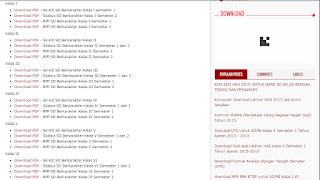 Kumpulan SK, KD, Silabus, RPP Kelas I, II, III, IV, V, VI Kurikulum 2013
